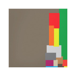 Random Abstract Art Design Canvas