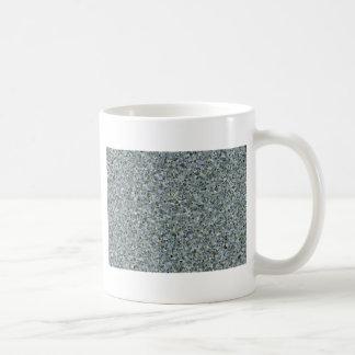 Random Abstract Triangles in Blue Coffee Mug