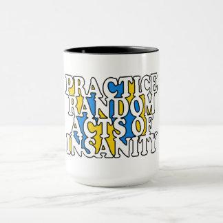 Random Acts of Insanity mugs
