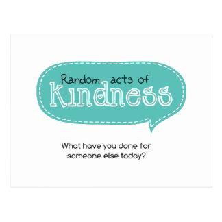 Random Acts of Kindness Postcard