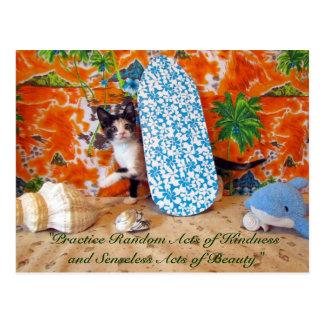 Random Acts of Kindness Postcard - Leilani's Dream