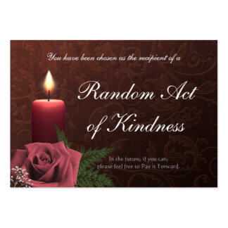 Random Acts of Kindness wallet Cards - Business Card