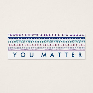 Random Acts of Kindness You Matter Cards