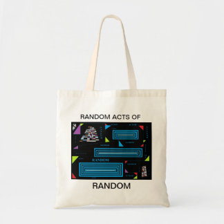 Random Acts Of Random. Budget Tote Bag