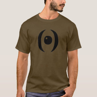 Random Black Crescent Eye T-Shirt