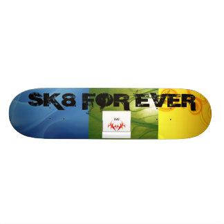 random but beautiful skate deck