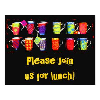 Random Coffee Mug 11 Cm X 14 Cm Invitation Card