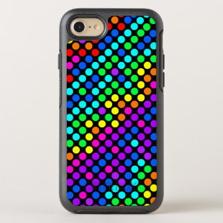 Random Colored Polka Dot Pattern OtterBox Symmetry iPhone 8/7 Case