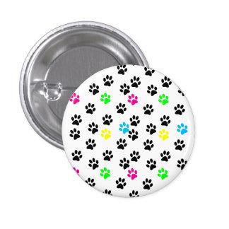 Random Colorful Cat Paws 001 Pins