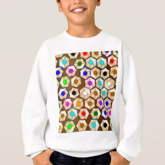 Random Coloured Pencils Sweatshirt