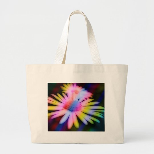 Random-Colours-Rainbow Large Tote Bag