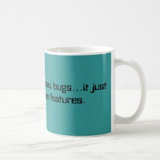 Random Features Mug