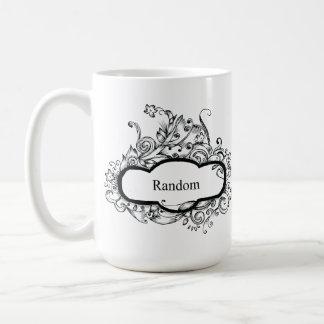 Random Floral Desigh Coffee Cup