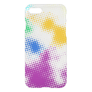 Random halftone colorful background iPhone 8/7 case