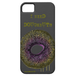 "Random ""I Need Doughnuts"" iPhone 5 Case"