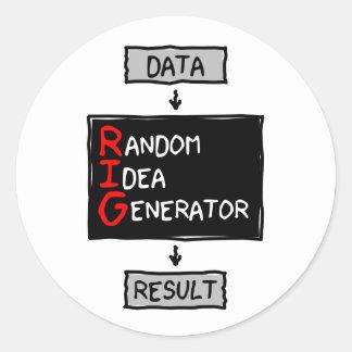 Random Idea Generator (RIG the Data) Sticker