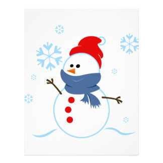 RANDOM OVERVIEW DAYS SEASONS WINTER SNOWMEN 21.5 CM X 28 CM FLYER