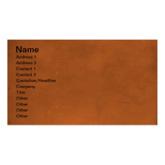 RANDOM OVERVIEW PART EIGHT BROWNS PACK OF STANDARD BUSINESS CARDS