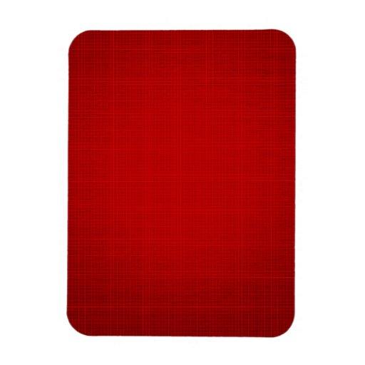 RANDOM OVERVIEW PART SEVENTEEN RED COLORS RECTANGULAR MAGNET