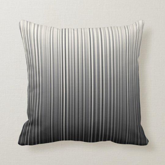 Random Pin Stripe Lines Gradient Black Grey Cream
