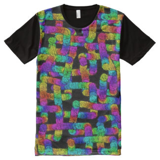 Random Rainbows Tapestry All Over T-shirt All-Over Print T-Shirt