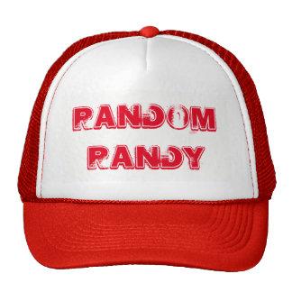 Random Randy Trucker Hat ( Red )