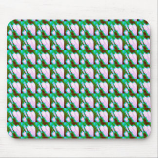 Random Splattered Paint Abstract Pattern Mouse Pad
