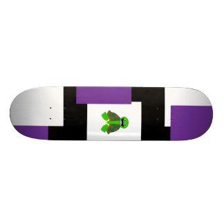 Random Squares 21.3 Cm Mini Skateboard Deck