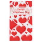 Random Valentine Red Heart Seamless Collage Small Gift Bag