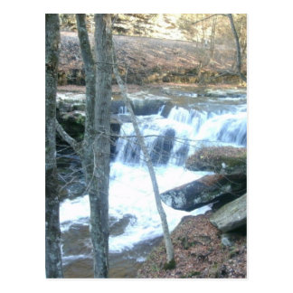 Random Waterfall Postcard