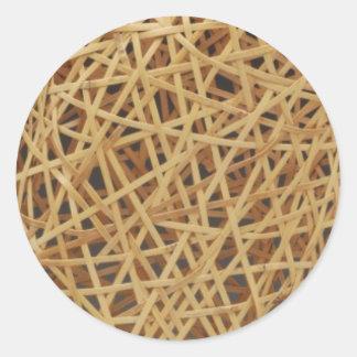 Random Weave sticker