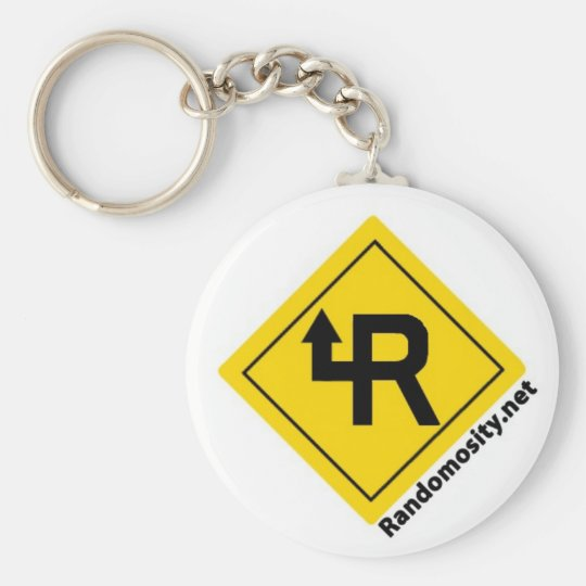 Randomosity Logo Keychain