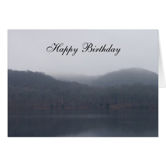 Randor Lake Birthday Card