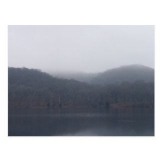 Randor Lake in Fog Postcard