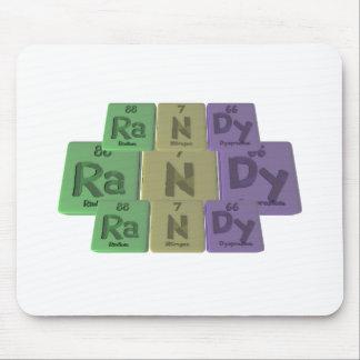 Randy as Radium Nitrogen Dysprosium Mousepad