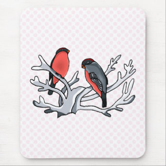 Randy & Randi Robin Mouse Pad