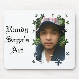 Randy s Profile Picture Mouse Pads
