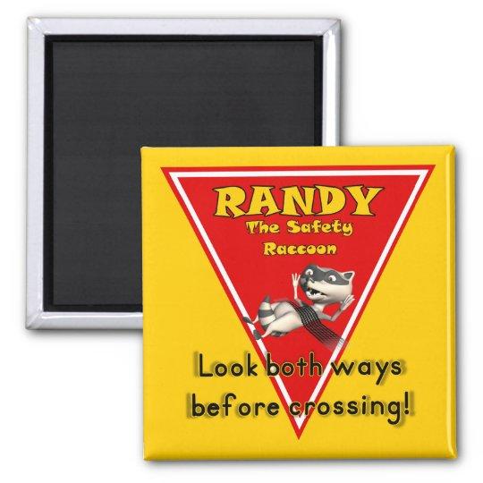 Randy Square Magnet