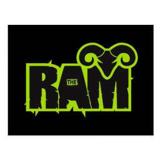 "Randy ""The Ram"" Postcard"
