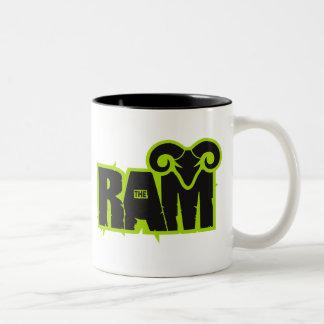 "Randy ""The Ram"" Two-Tone Coffee Mug"