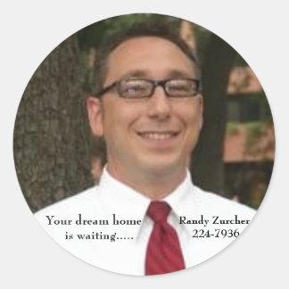 Randy Zurcher stickers