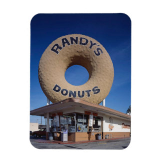 Randy's Donuts California Architecture Rectangular Photo Magnet