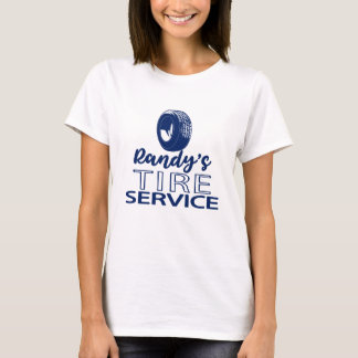 Randy's Tire Service | Blue Logo | You Customize T-Shirt