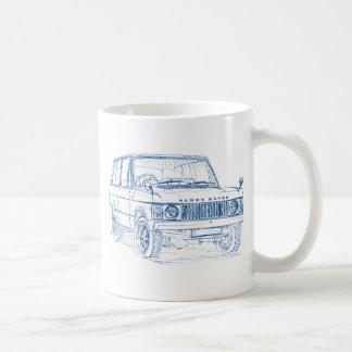 Range Rover gen1 1970+ Coffee Mugs