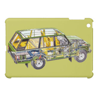 Range Rover Land Landy Classic Hiking Duck Cover For The iPad Mini