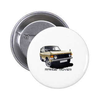 Range Rover Pinback Buttons