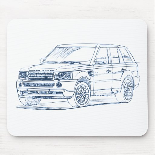 Range Rover Sport 2006+ Mouse Pads