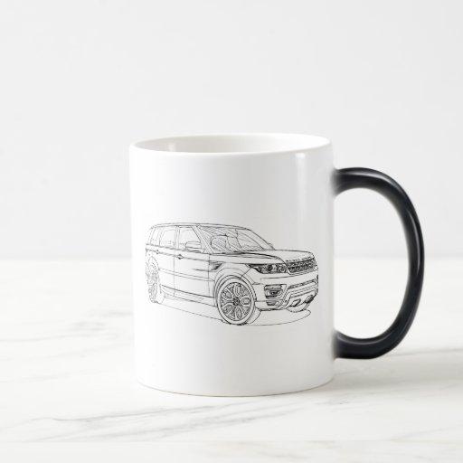 Range Rover Sport 2014 Coffee Mugs
