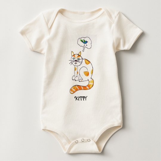 RANGER CAT BABY BODYSUIT