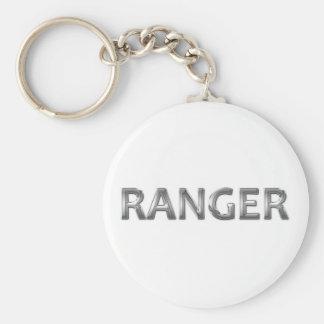 Ranger chrome key chains